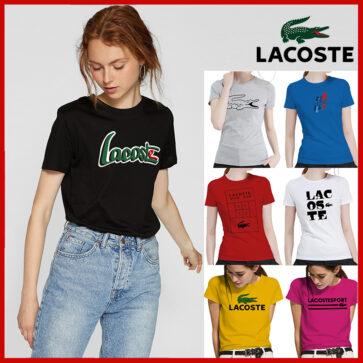 קטלוג חולצות קצרות לנשים לקוסט LACOSTE
