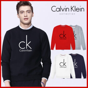 Large CK round neck sweater men 492