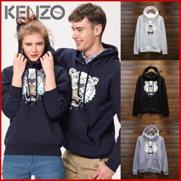 KENZO-נשים קנזו קפוצ'ונים לגברים