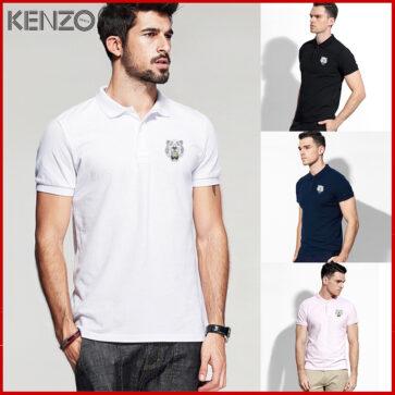 KENZO-קנזו חולצות פולו שרוול קצר לגברים