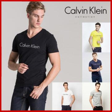 CK ROUND חולצות שרוול קצר לגברים