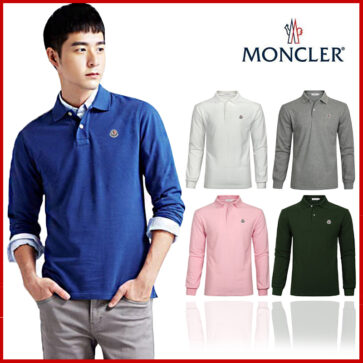 POLO MEN LONG MONCLER