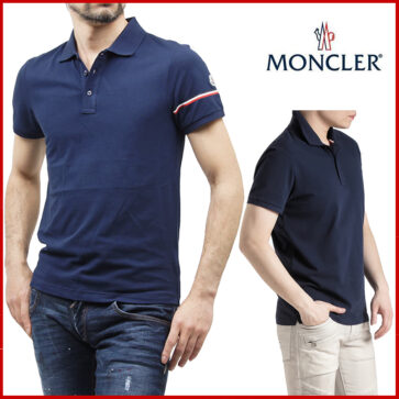 POLO SHORT MEN LOGO SIDE MONCLER