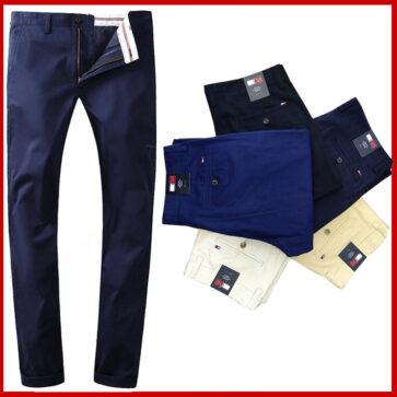 קטלוג ג'ינסים ומכנסיים לגברים טומי TOMMY