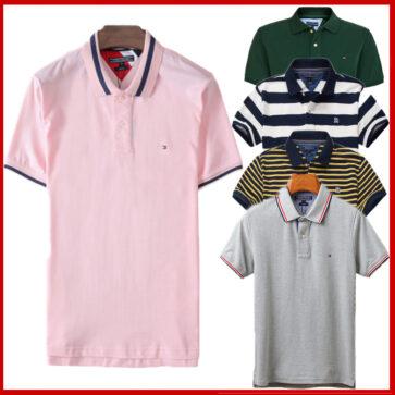 קטלוג חולצות פולו קצרות לגברים טומי TOMMY
