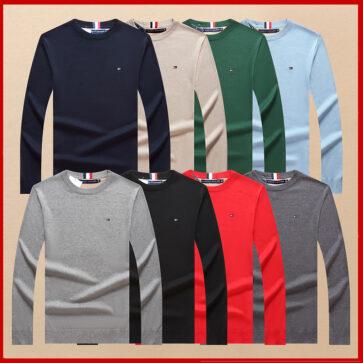 קטלוג חולצות ארוכות לגברים טומי TOMMY